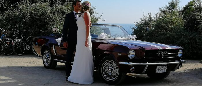 location de grace mustang de collection cabriolet 1965 avec chauffeur pour votre mariage. Black Bedroom Furniture Sets. Home Design Ideas